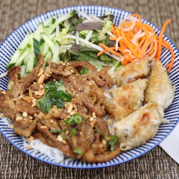 V2. Bún Thịt Nướng Chả Giò (gà hoặc heo)
